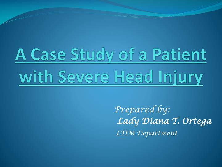 a case study of a patient Written case presentation student a sample three research questions can be formulated from this case presentation this patient did a clinical case study.