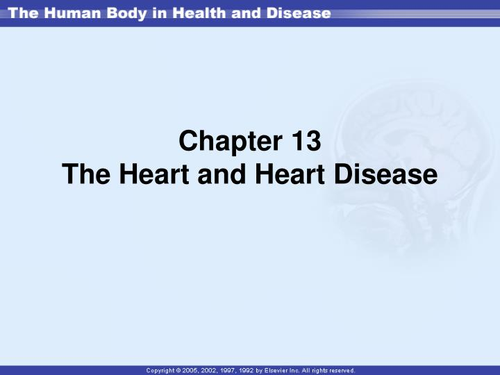 chapter 13 the heart and heart disease n.