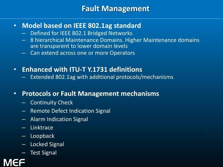 Fault Management