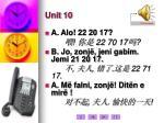unit 101