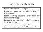 sociologiniai klausimai1