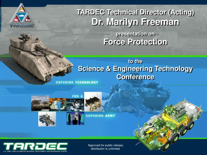 TARDEC Technical Director (Acting)