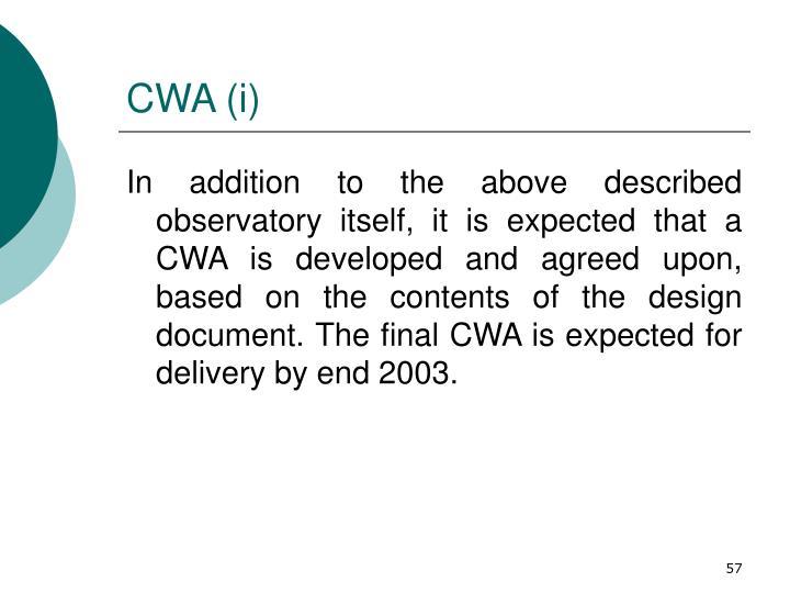 CWA (i)
