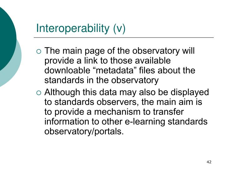 Interoperability (