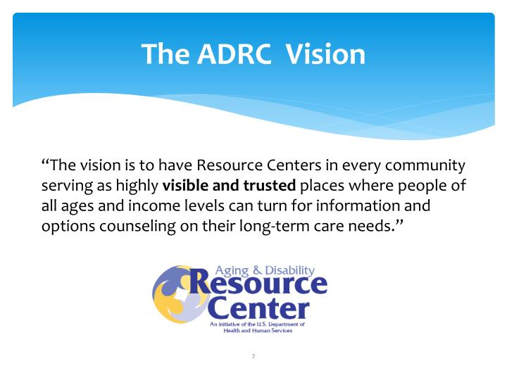 The ADRC  Vision