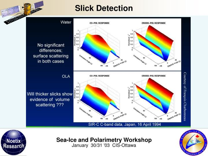 Slick Detection