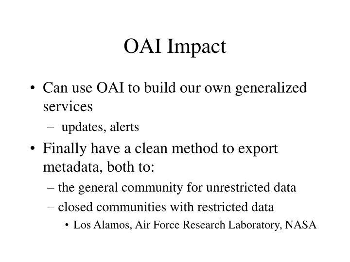 OAI Impact