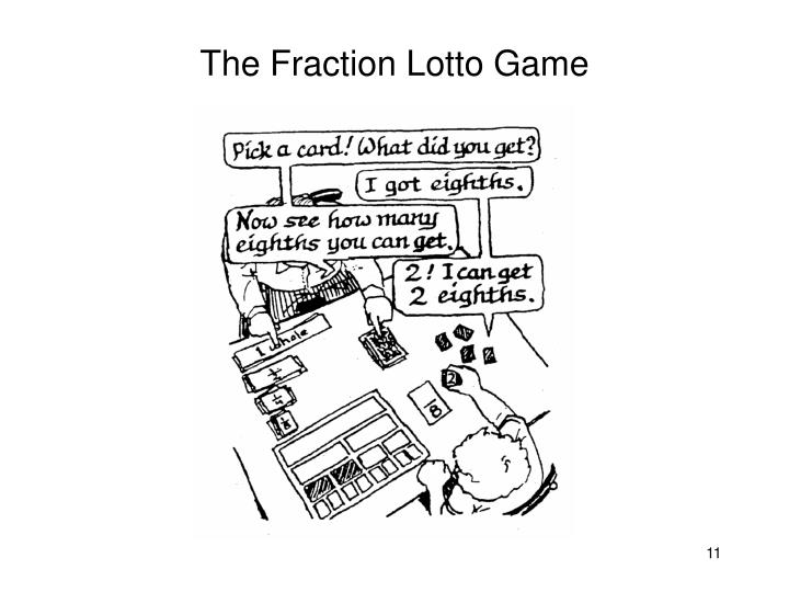 The Fraction Lotto Game
