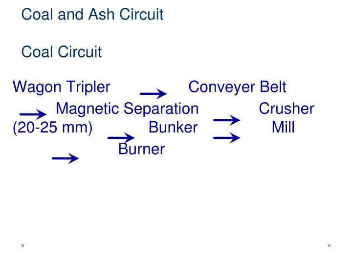 Coal and Ash Circuit