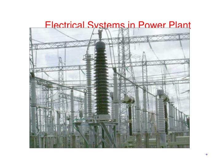 Electrical Systems in Power Plant