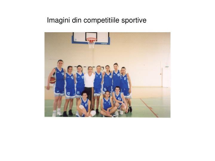 Imagini din competitiile sportive