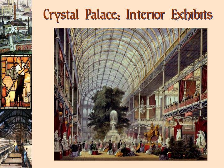Crystal Palace: Interior Exhibits
