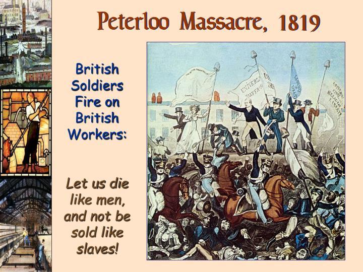 Peterloo Massacre,