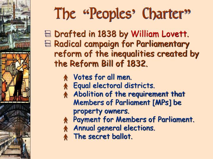 """The """"Peoples' Charter"""""""