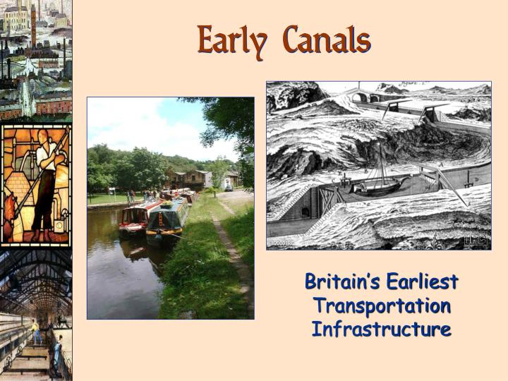 Early Canals