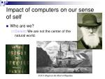 impact of computers on our sense of self1