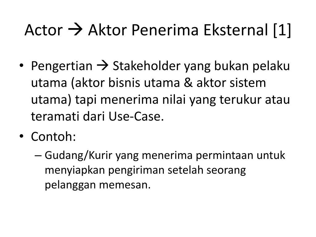 PPT - Use Case Sistem PowerPoint Presentation - ID:4226807