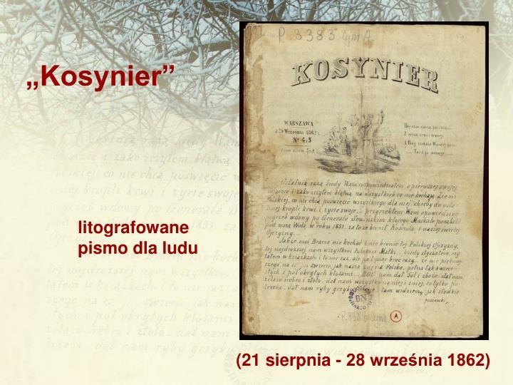 """""""Kosynier"""""""