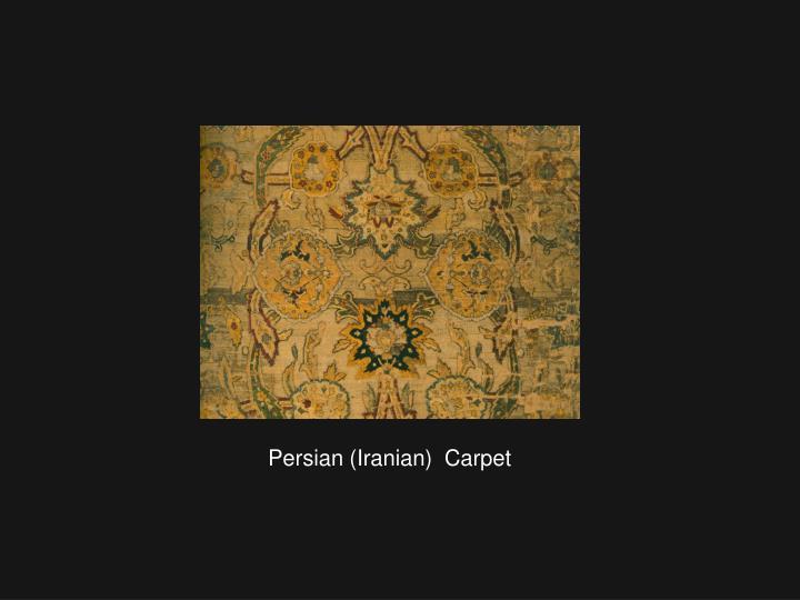 Persian (Iranian)  Carpet