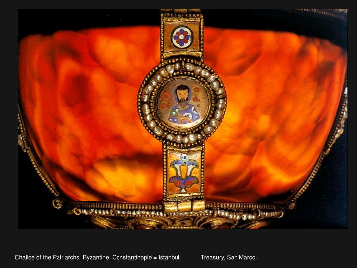 Chalice of the Patriarchs