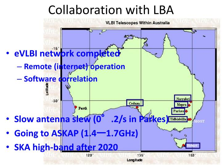 Collaboration with LBA