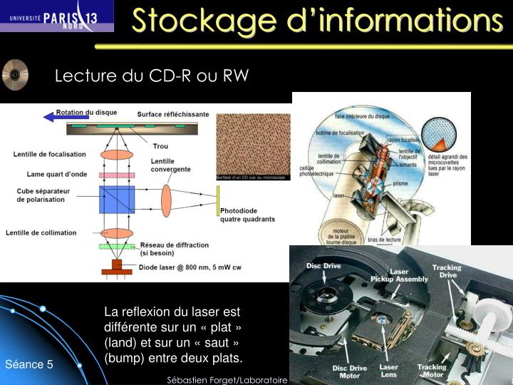 Stockage d informations