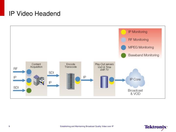 IP Video Headend