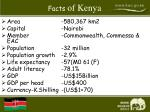 facts of kenya
