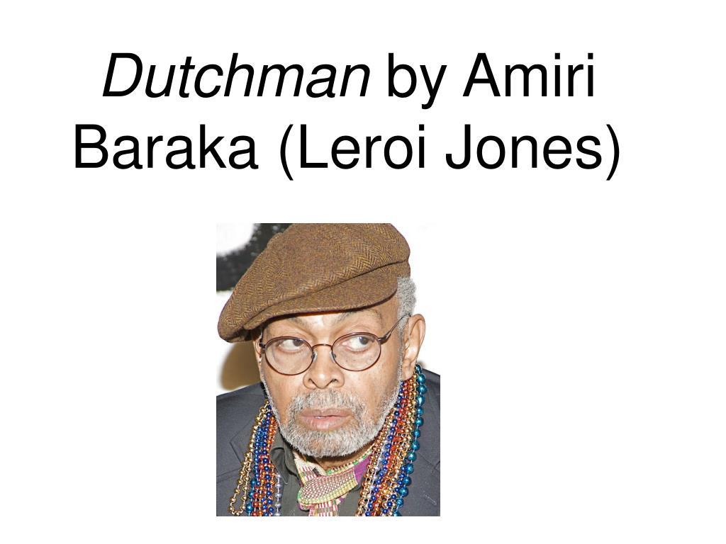 dutchman amiri baraka analysis