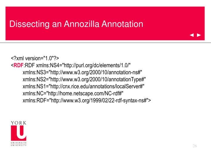 Dissecting an Annozilla Annotation