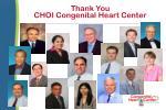 thank you choi congenital heart center