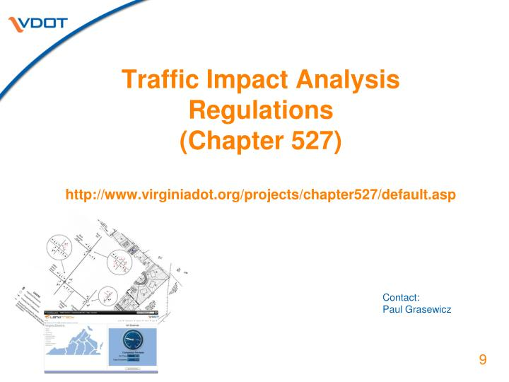 Traffic Impact Analysis Regulations