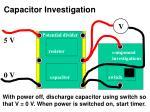 capacitor investigation