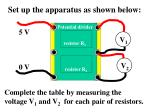 set up the apparatus as shown below