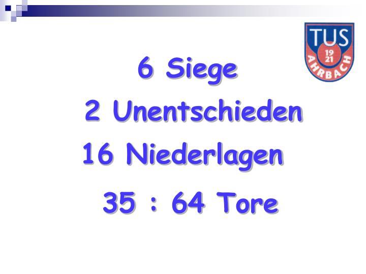 6 Siege