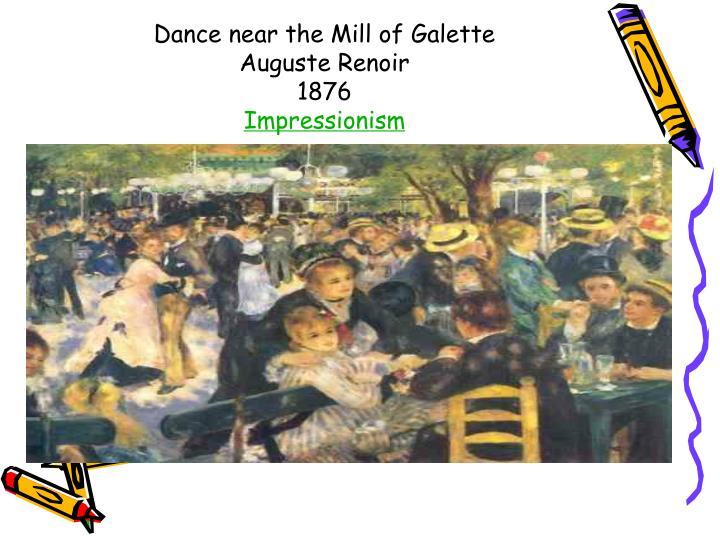 Dance near the Mill of Galette