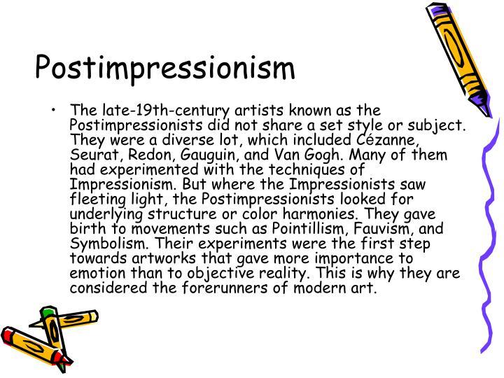 Postimpressionism