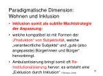 paradigmatische dimension wohnen und inklusion14