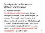 paradigmatische dimension wohnen und inklusion6