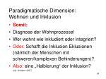 paradigmatische dimension wohnen und inklusion9