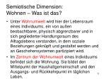 semiotische dimension wohnen was ist das4