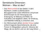 semiotische dimension wohnen was ist das5