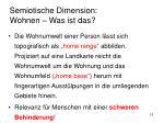 semiotische dimension wohnen was ist das6