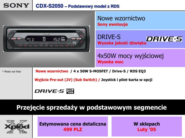 CDX-S2050