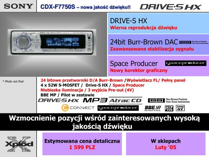 CDX-F7750