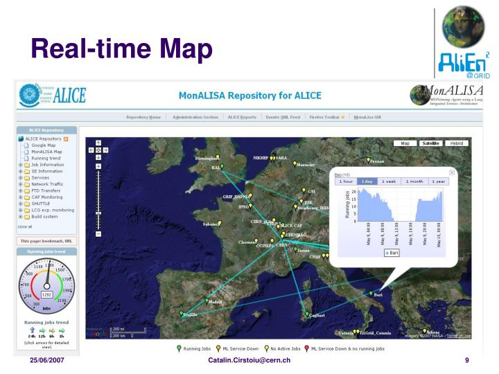 Real-time Map