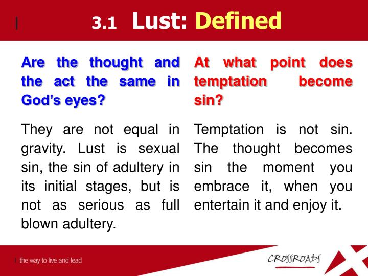 Are the thought and the act the same in God's eyes?