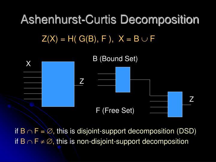 Ashenhurst-Curtis Decomposition