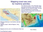 mapping coast sea uses for maritime activities