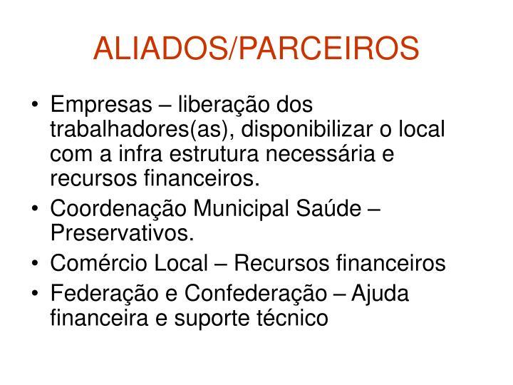 ALIADOS/PARCEIROS